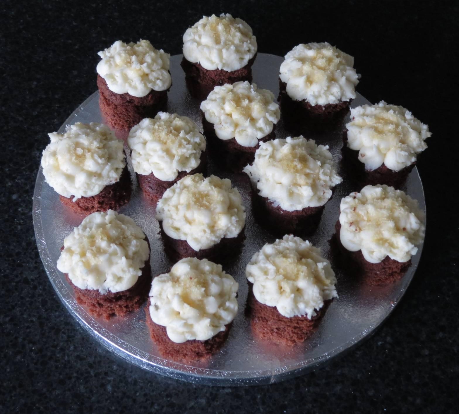 Chocolate Beer Mini Cakes