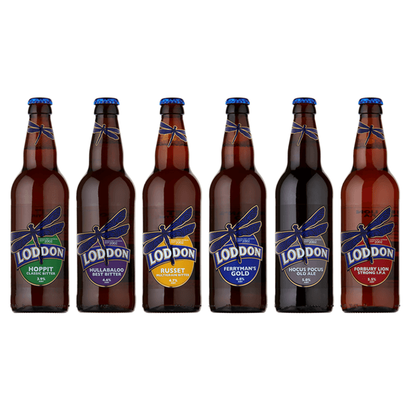 6 bottles of classic ales