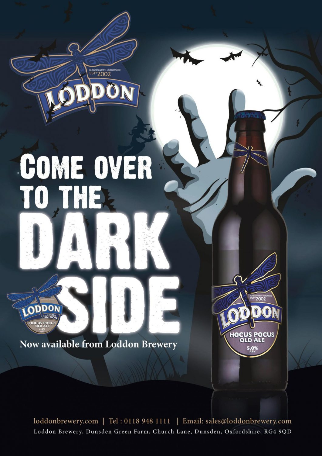 Loddon Brewery - Hocus Pocus Old Ale