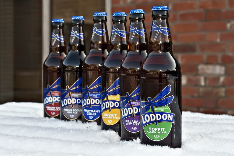 Loddon Brewery Bottled Beers