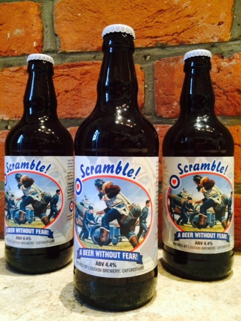 3 Bottles Of Scramble! Beer