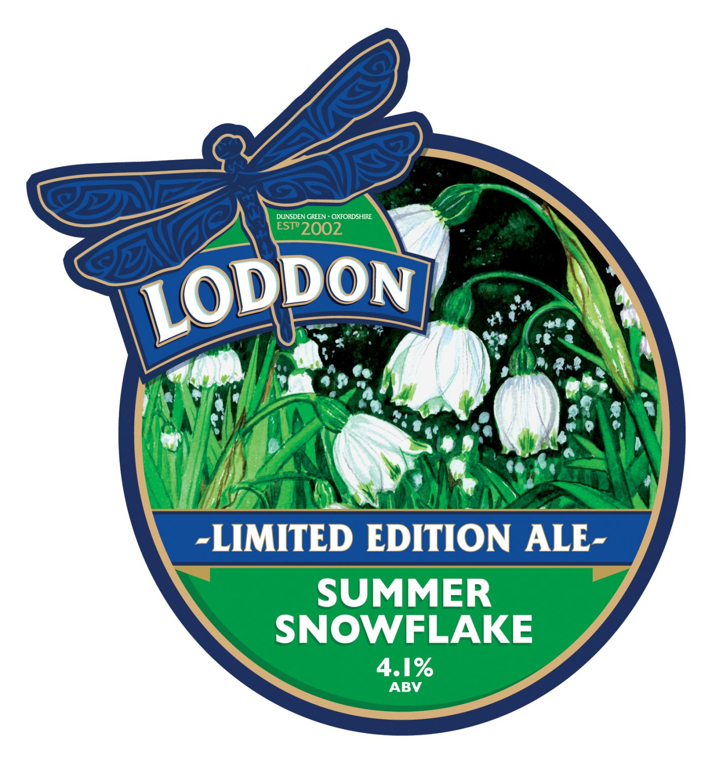 Loddon Brewery Limited Edition Ale - Summer Snowflake