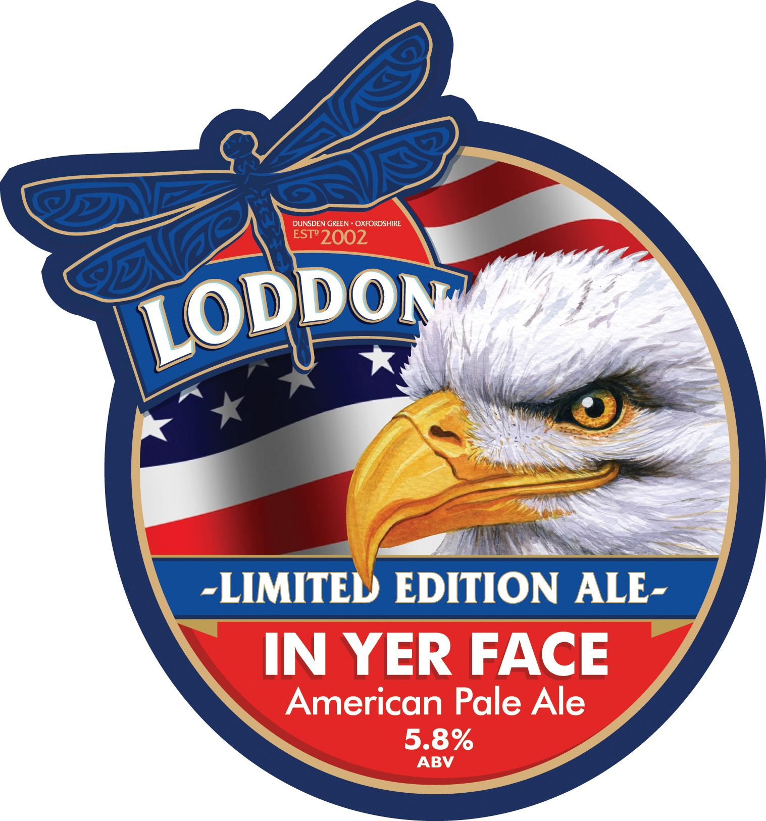 Loddon Brewery Limited Edition Ale - In Yer Face